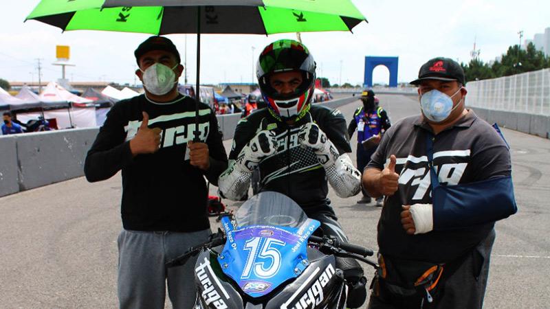 Joel Razon Racing Bike Mexico Queretaro Julio 2020 Jca Motorbikes Furygan Mexico 02