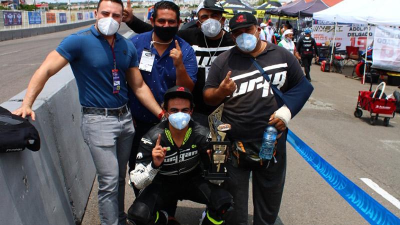 Joel Razon Racing Bike Mexico Queretaro Julio 2020 Jca Motorbikes Furygan Mexico 28