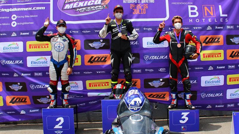 Joel Razon Racing Bike Mexico Queretaro Julio 2020 Jca Motorbikes Furygan Mexico 30