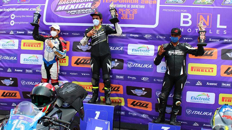 Joel Razon Racing Bike Mexico Queretaro Julio 2020 Jca Motorbikes Furygan Mexico 31