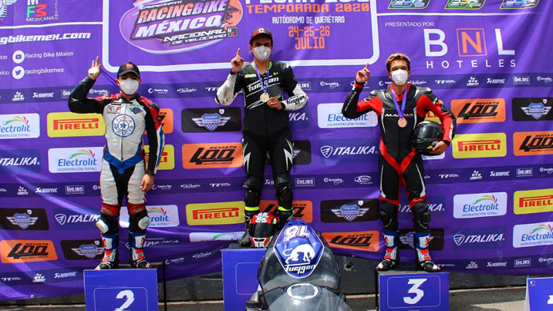 Joel Razon Racing Bike Mexico Queretaro Julio 2020 Jca Motorbikes Furygan Mexico 33